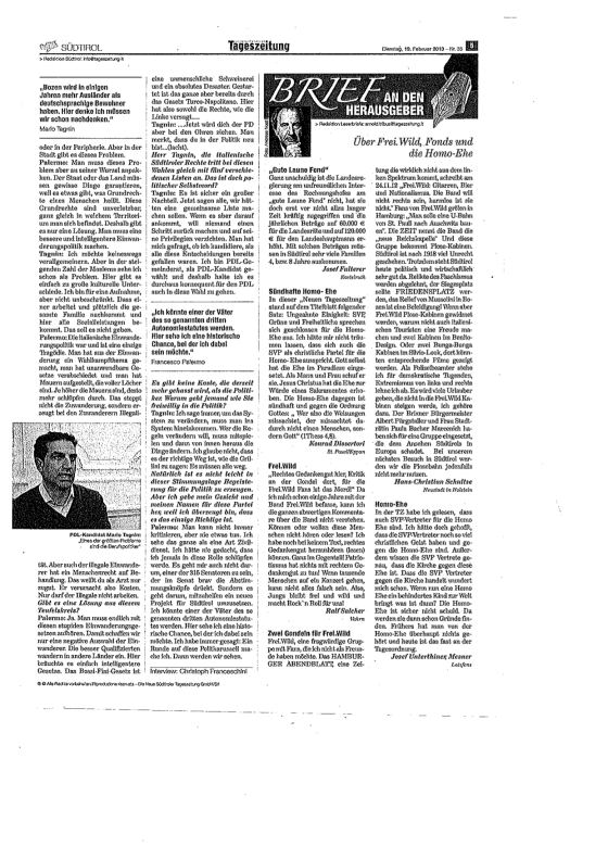 Tageszeitung 2