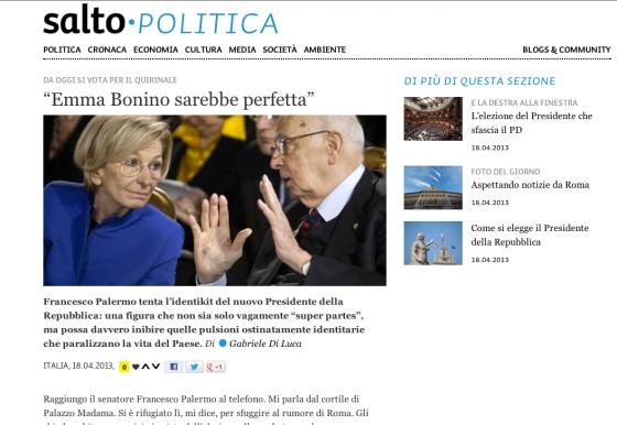 Blog di Gabriele di Luca susalto.bz