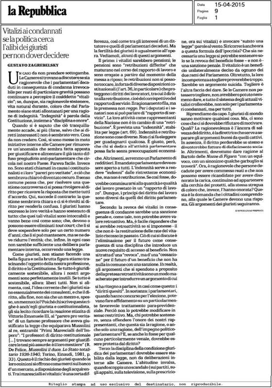 Repubblica 20150415