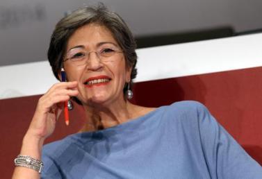 La senatrice Anna Finocchiaro in una foto del 7 novembre 2014. ANSA / MATTEO BAZZI